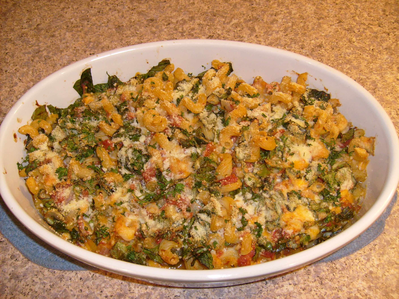 Spinach Baked Ziti   Little Kitchen on the Prairie