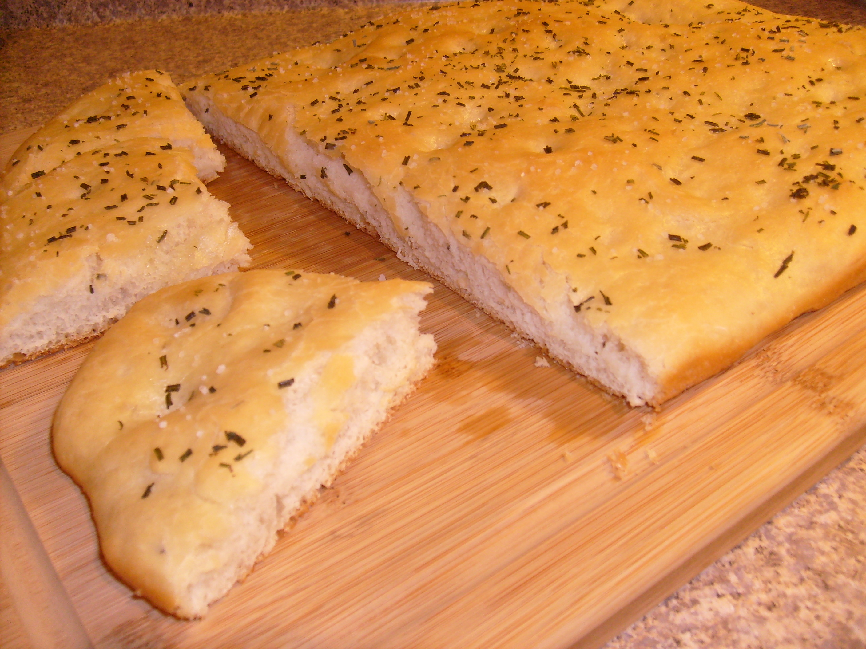 Rosemary Focaccia Bread | Little Kitchen on the Prairie