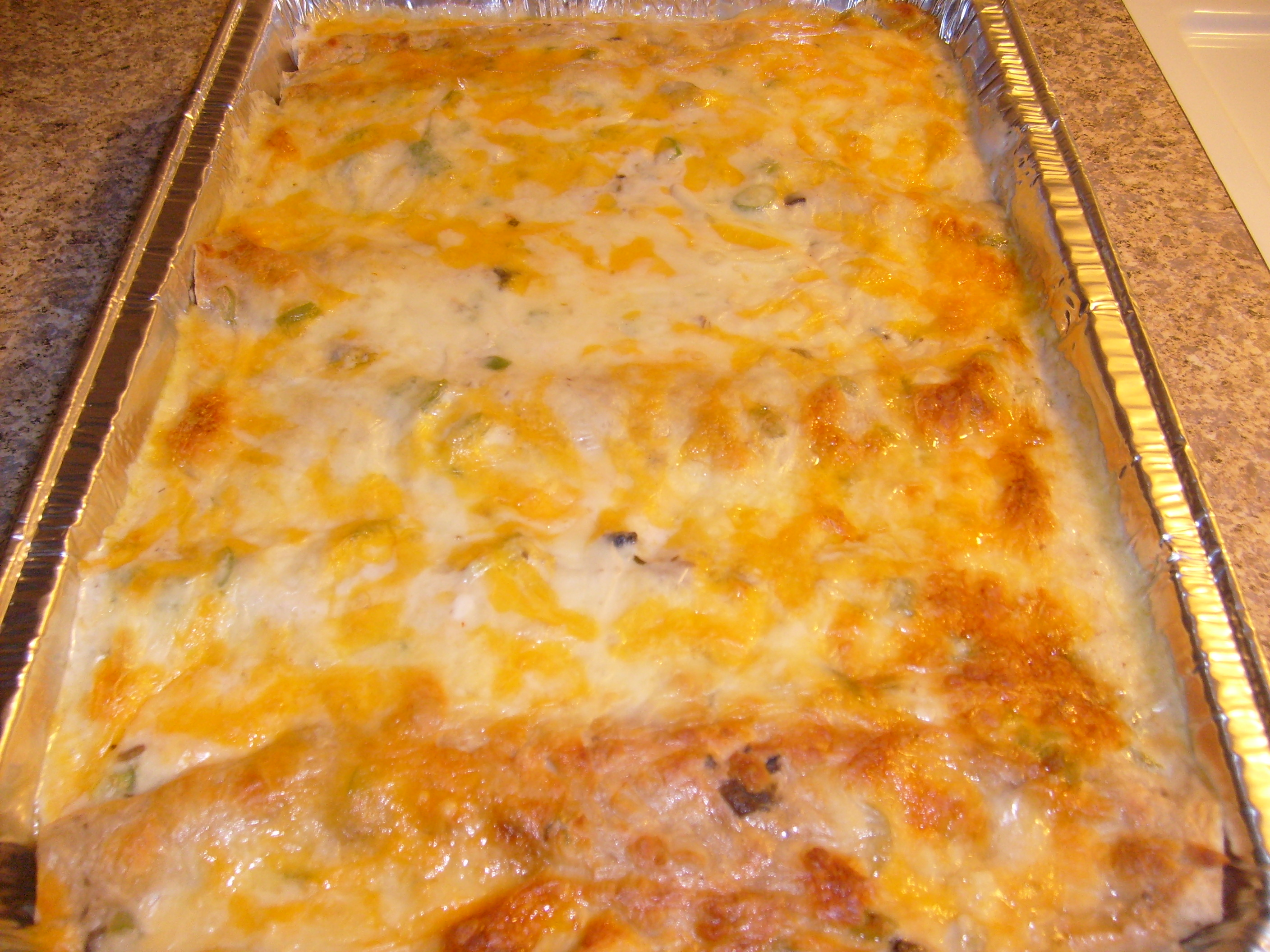 Creamy Chicken Enchiladas | Little Kitchen on the Prairie