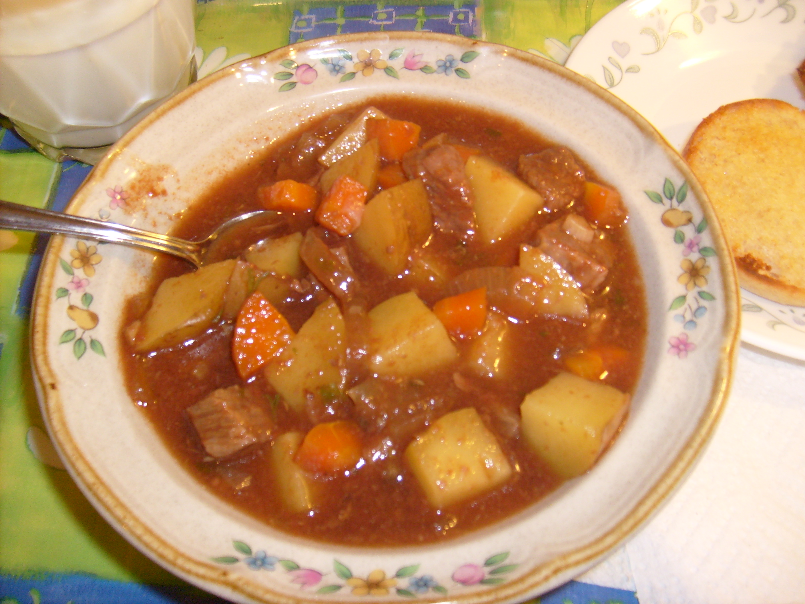 Irish Beef Stew…and my Pantry Challenge! | Little Kitchen on the ...